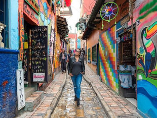Private Walking City Tour in Bogota