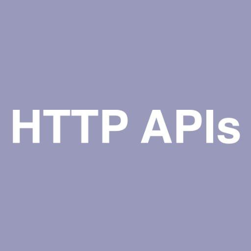 HTTP API'S