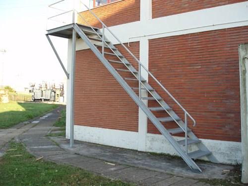Escaleras industriales