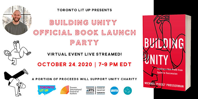 Book Launch Party Oct 24th - Get your Free Tickets!