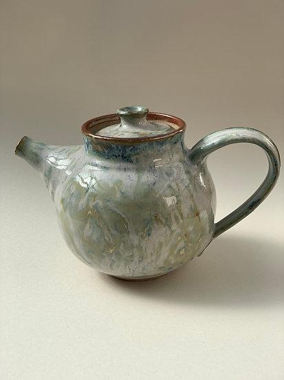 Shino tea pot, 250 mm w x150 mm h,5-3238
