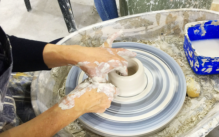 May 15th Introduction to the pottery wheel