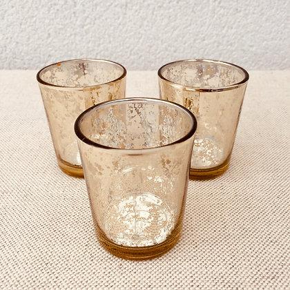 """Lot de 3 Photophore/Vase """"DORINA"""""""