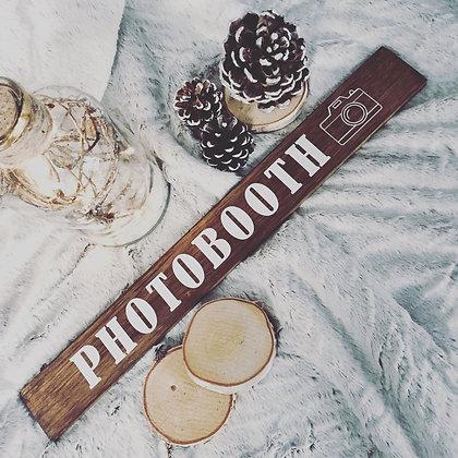 """Panneau """"PHOTOBOOTH"""""""