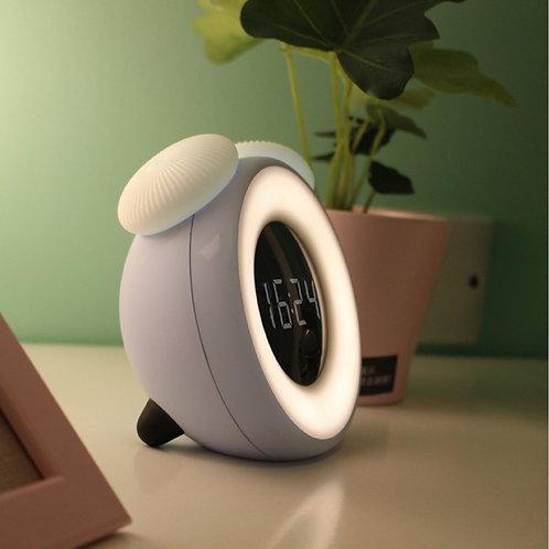 LED desk lamp Clock