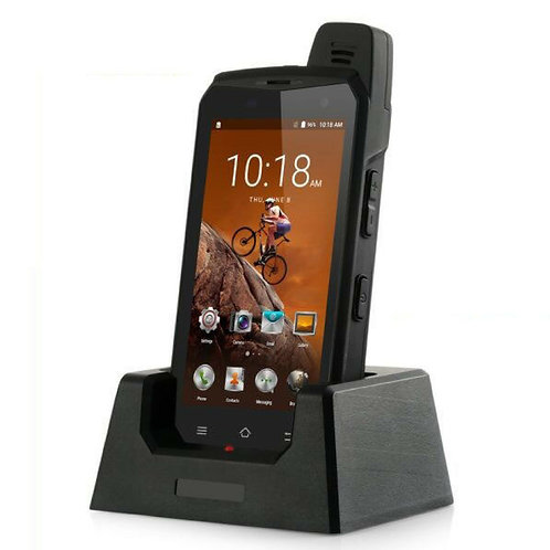 4G LTE Rugged Smart Phone with Cradle