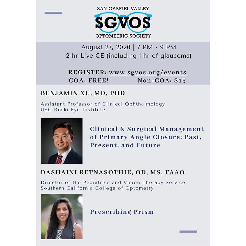 SGVOS August Virtual CE