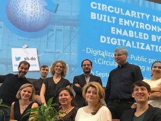 """Presentations from """"Circularity in the built environment enabled by digitalization""""."""
