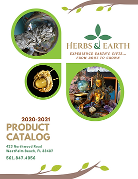 Herbs & Earth Product Catalog 2020-21 CO