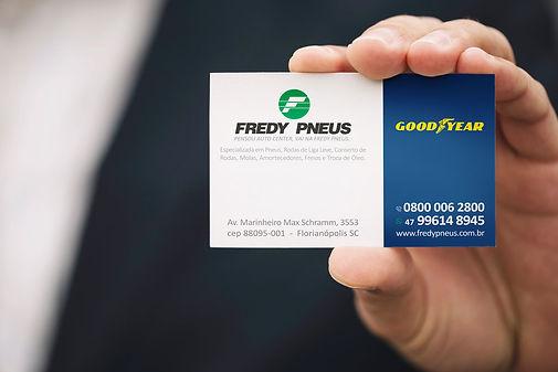 AG7 Ideias / Criação material institucional Fredy Pneus