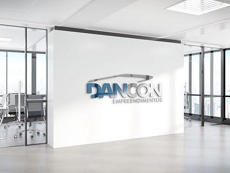 AG7 Ideias / Criação logotipo Dancon Empreendimentos