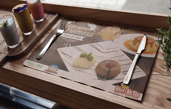 AG7 IDEIAS / Papel bandeja sobremesa