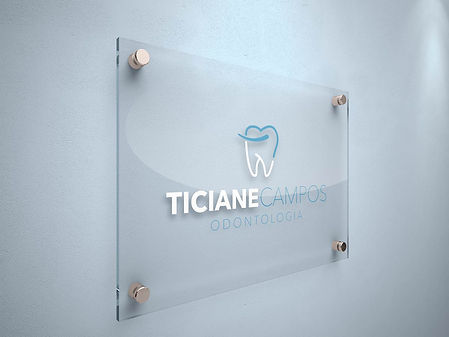 AG7 Ideias / Criação logotipo Dra. Ticiane Campos
