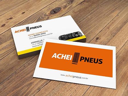 AG7 Ideias / Criação papelaria Achei Pneus