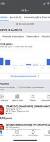 Relatório BM Facebook