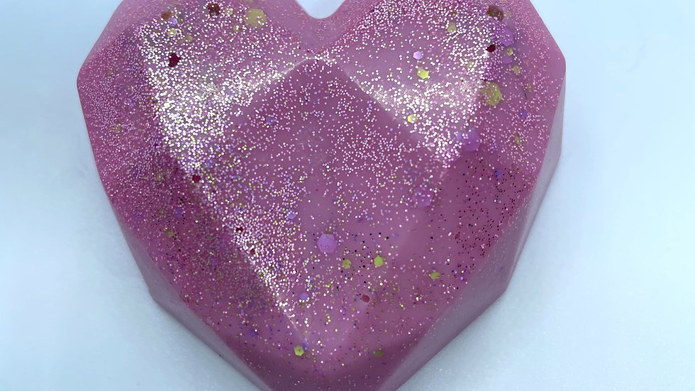 PINK SANDS HEART