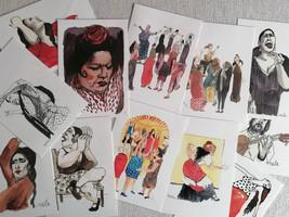 Alegrías - ilustración Flamenco