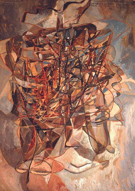 """Serie """"Sismografías""""- Cuadros de una Exposición, M.Mussorgski- La cabaña de Baba"""