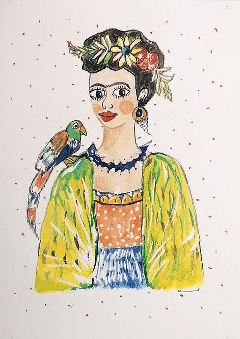 Frida- reproducción