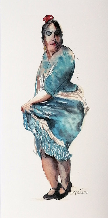 Balaora Azul- Reproducción
