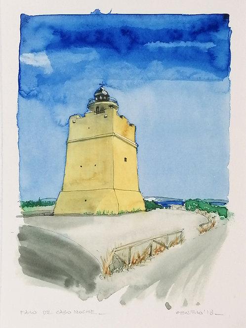 Faro de Cabo Roche- Reproducción