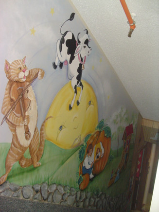 the cat and the fiddle stairway educare(