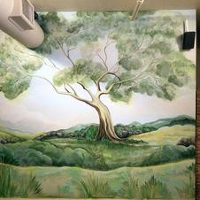 Massage Room Mural