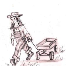 Uncommon Kid, Girl Illustration, The Com