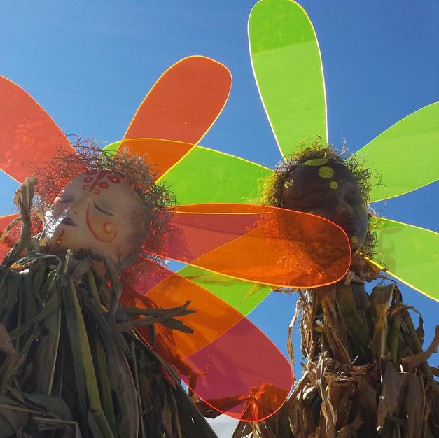 Corn People Close-up
