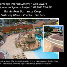 Harrington Bomanite stamped concrete