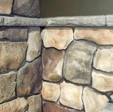 Faux Rock Wall