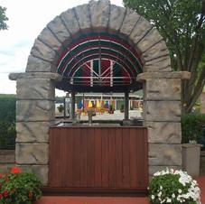 Portofino Outdoor Bar Arch