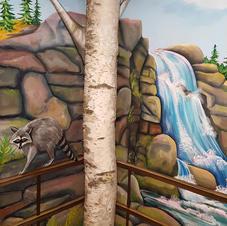 The Flume, Children's Mural