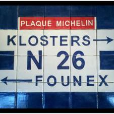 Custom Swiss Street Sign