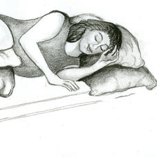 Illustration for Hypnobirthing Book