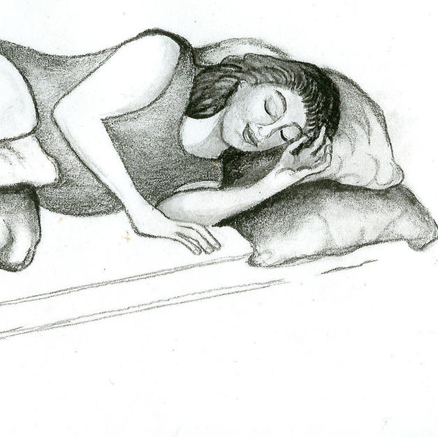 Illustration for Hypnobirthing Book