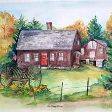 Clapp Farm House Portrait