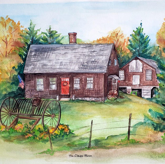 Clapp Farm House Portrait