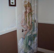 Mermaid on Door