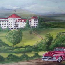 Mount Washington Hotel Mural