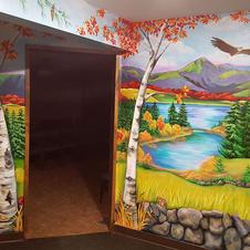 New Hampshire Landmarks Children's Wall