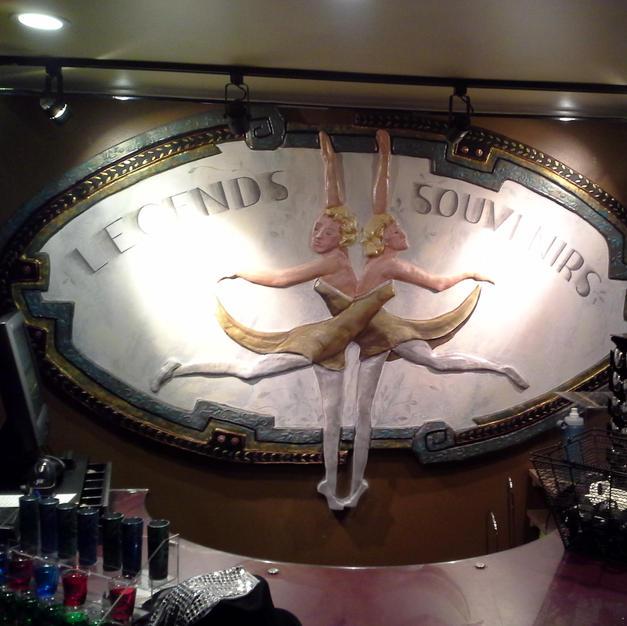 Art Nouveau Souvenir Retail Sign