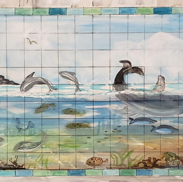 Tile Mural Layout
