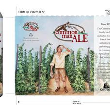 The Common Man Beer Label Art