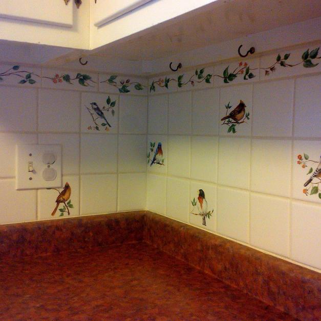 Bird Accent Tiles