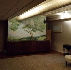 Massage Room Mural, Plymouth