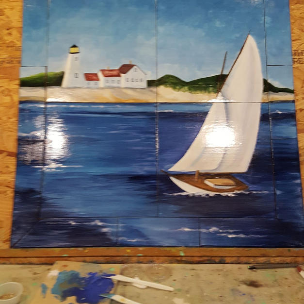 Seaside Tile Insert
