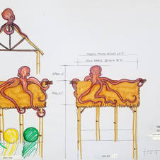 Octopus Tower Conceptual Drawing