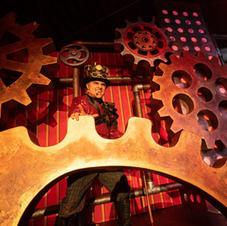 Twisted Circus stage set, Canobie Lake P
