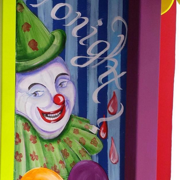 Ticket Booth, Clown Haunt, 2015